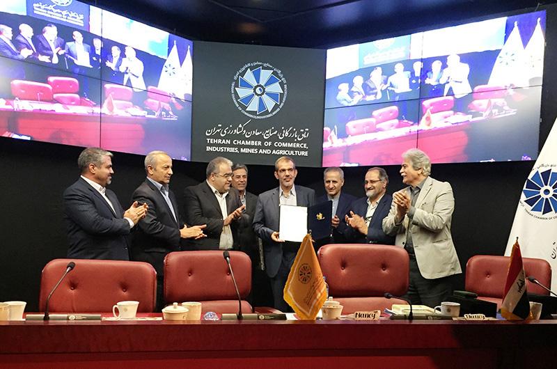 نشست تحولات عراق و فرصت های جدید همکاری در اتاق تهران -1396/04/28