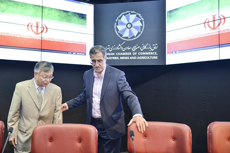 حضور سفیر چین در اتاق تهران و دیدار با فعالان اقتصادی - 1396/05/18