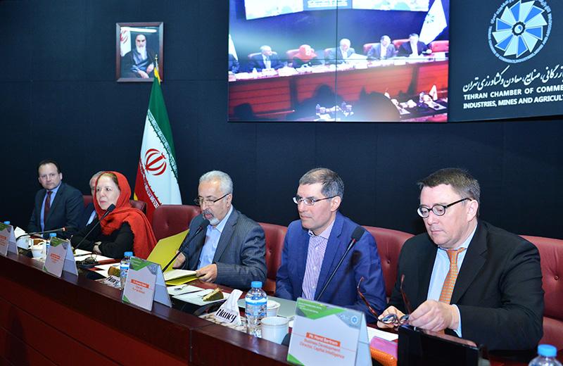 نشست نقش رتبه بندی اعتباری در اتاق تهران - 1397/02/01