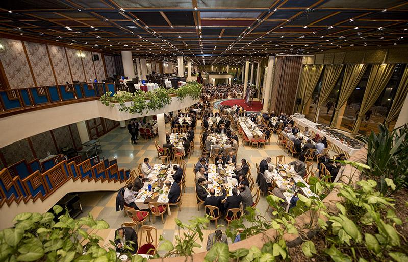 ضیافت افطاری اتاق تهران با حضور اعضای هیات مدیره تشکلهای اقتصادی