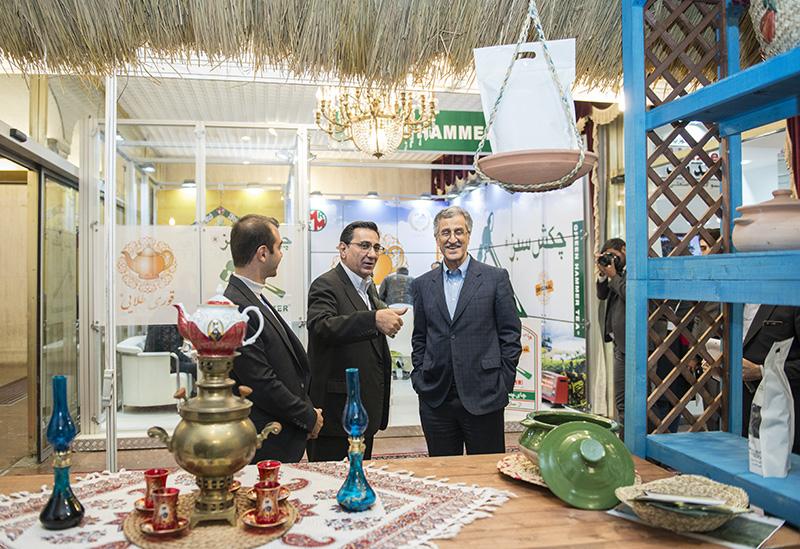 بازدید رئیس اتاق تهران از نمایشگاه تخصصی صنعت چای