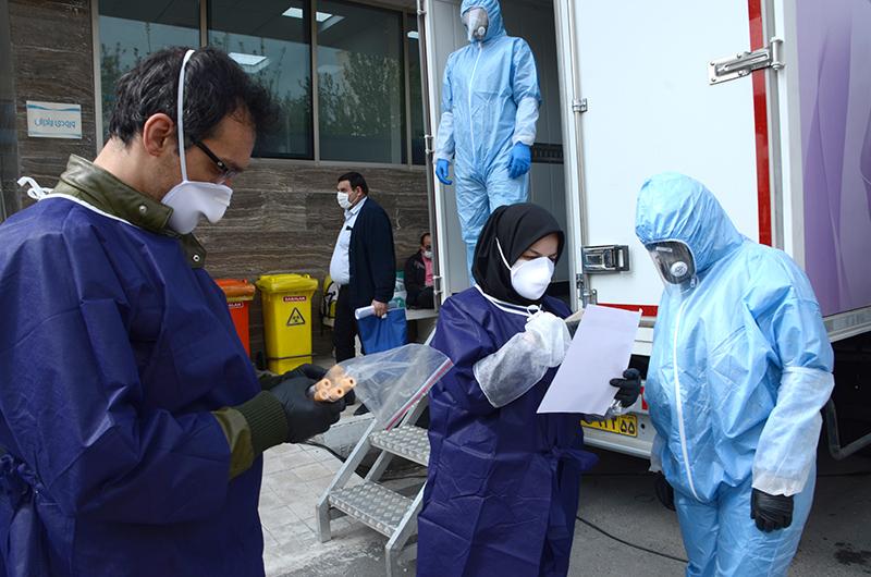فرایند پلاسما درمانی کرونا توسط بخش خصوصی با حمایت اتاق بازرگانی تهران - عکس : سمیرا بیگدلی