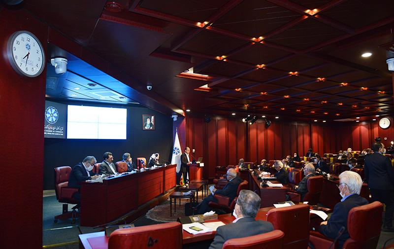 دوازدهمین نشست هیات نمایندگان اتاق تهران - دوره نهم