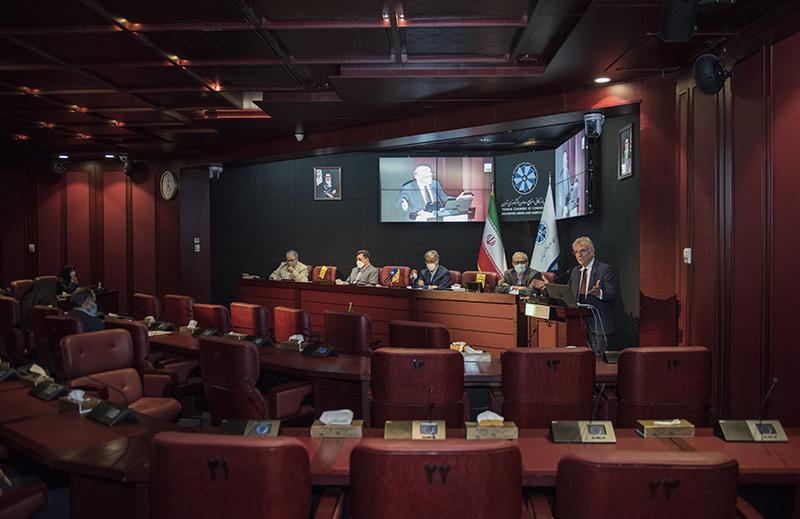بیست و دومین نشست هیات نمایندگان اتاق تهران - دوره نهم