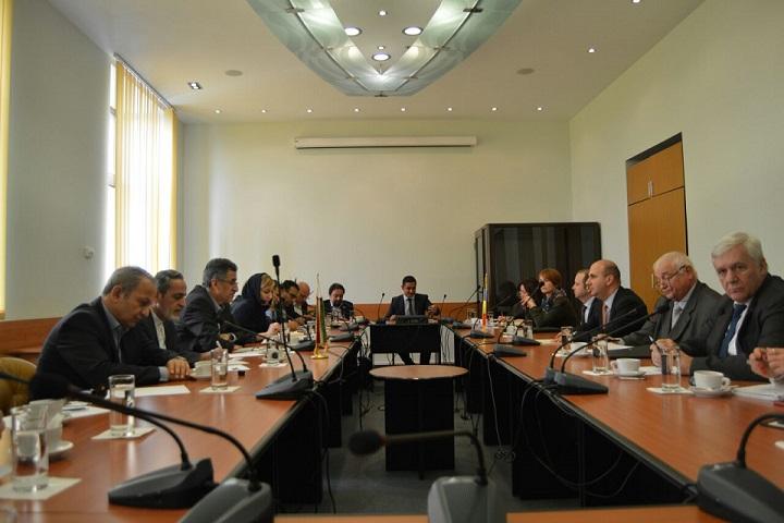 دیدار هیات تجاری اتاق تهران با وزرای دولت  و بخش خصوصی رومانی