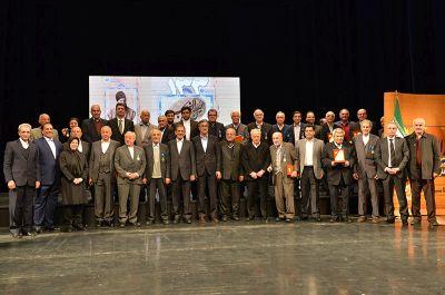 تجلیل از تلاشگران اقتصادی در مراسم 133 سالگی اتاق تهران