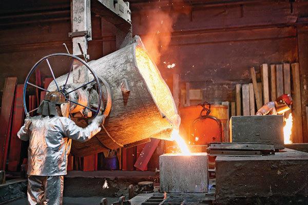 آسیا سردمدار تولید فولاد خام جهان است