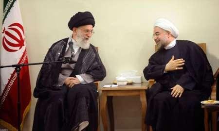 روحانی: بیانات راهگشای حضرتعالی مایه دلگرمی خادمان ملت و فعالان اقتصادی شد