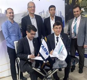 امضای تفاهم نامه همکاری بین شرکت تام و زیمنس