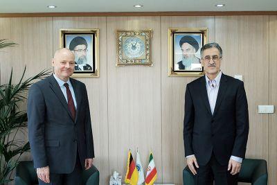 آلمان همکاریهای اقتصادی با ایران را سرعت ببخشد