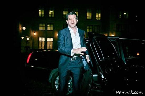 رئيس اوبر مسافر يك تاكسي