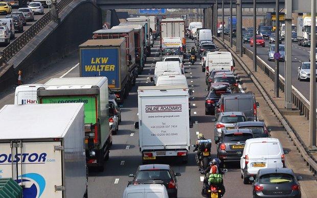 ترافیک، هرسال ۹ میلیارد پوند به انگلیس ضرر میزند