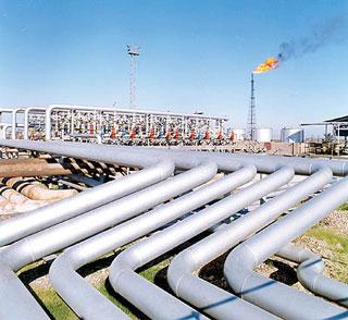 صادرات ۱۰ میلیون مترمکعب گاز به بغداد