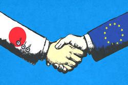 اتحادیه اروپا و ژاپن توافق تجارت آزاد امضا کردند