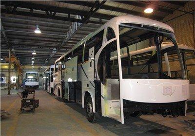 تولید ۳ اتوبوس متوقف شد