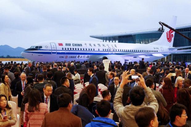 بوئینگ اولین کارخانه تولید ۷۳۷ را در چین افتتاح کرد