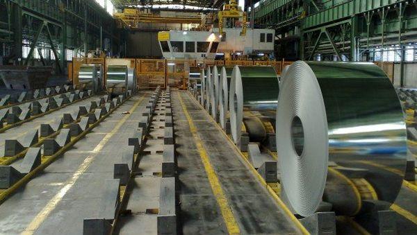 یک میلیون تن فولاد صادر شد