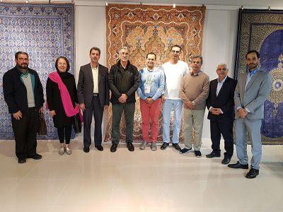 ملاقات با نمایندگان غرفه دائمی نمایشگاهی ایران در شانگهای
