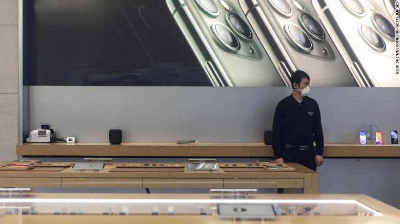 ویروس کرونا، درآمد شرکت اپل را کاهش داد