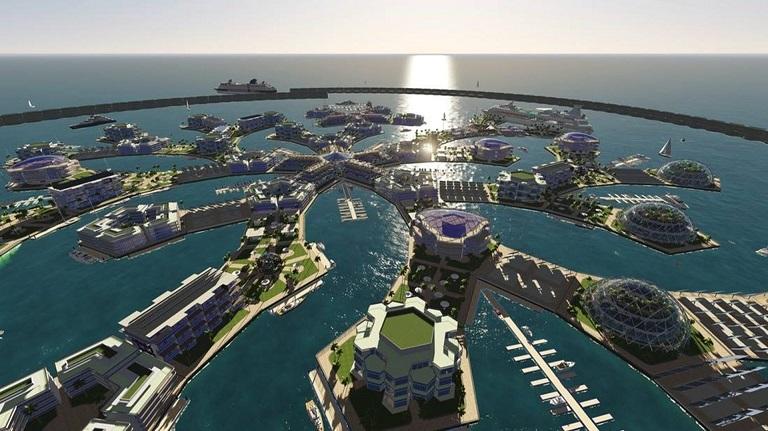 املاک آینده را روی آب بسازید