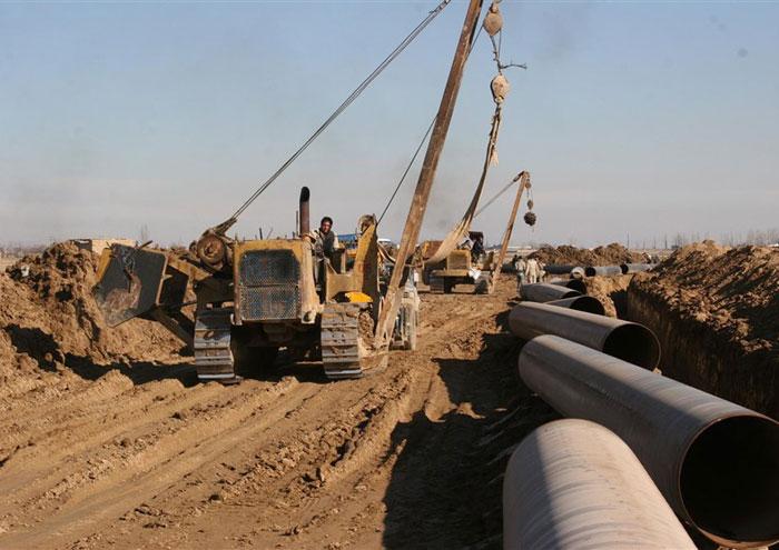 5 هزار نیرو در پروژه انتقال نفت خام به جاسک کار می کنند