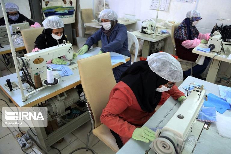 ماسک و مواد ضدعفونیکننده مازاد صادر میشود