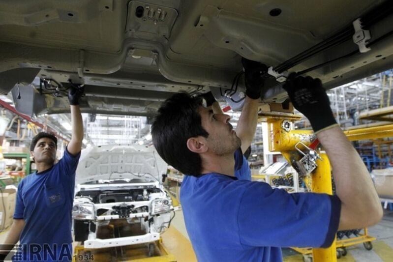 رشد ۳۱ درصدی تولید خودروسازان در خردادماه