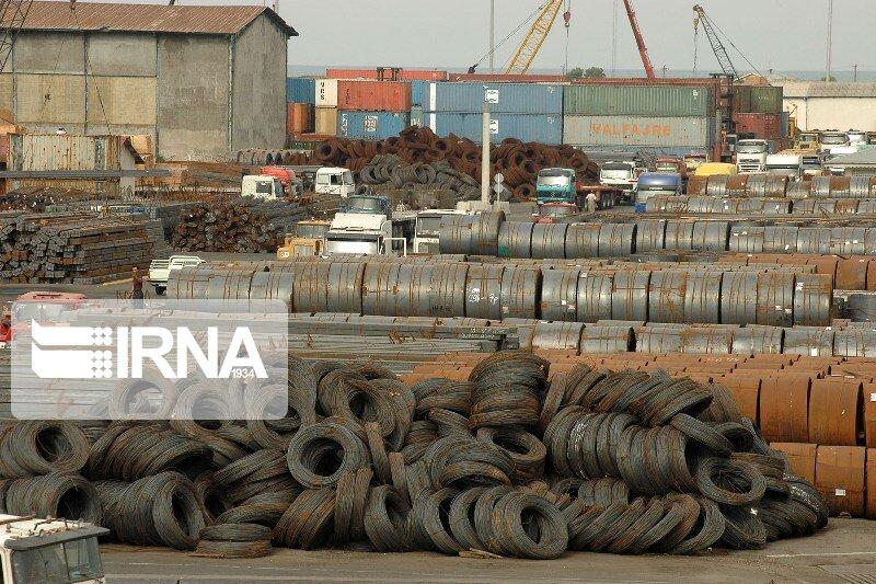 سهم ۴۵ درصدی فولاد از صادرات معدن و صنایع معدنی