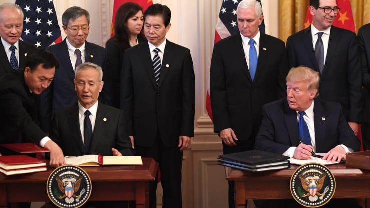 فاز اول توافق تجاری پکن و واشنگتن ادامه پیدا می کند؟