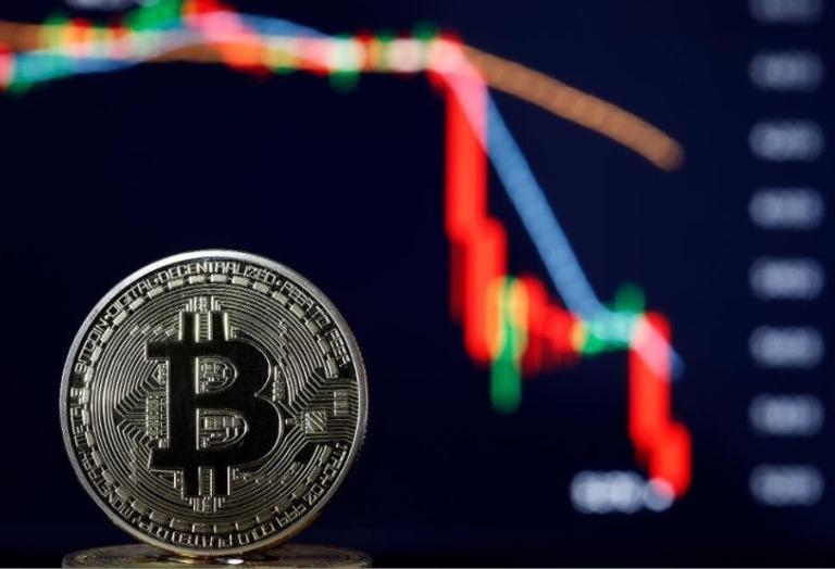 ریزش قیمت در بازار ارزهای دیجیتال
