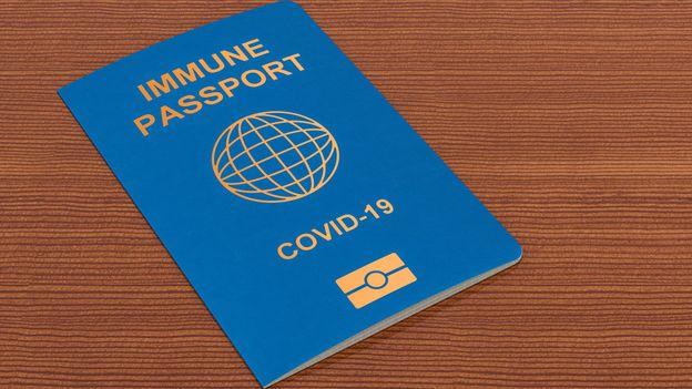 پاسپورت واکسن کرونا هنوز در دسترس نیست