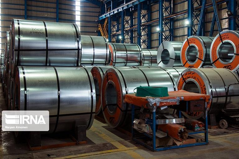 رشد ۲ درصدی صادرات ورق گرم فولادی تا پایان دیماه